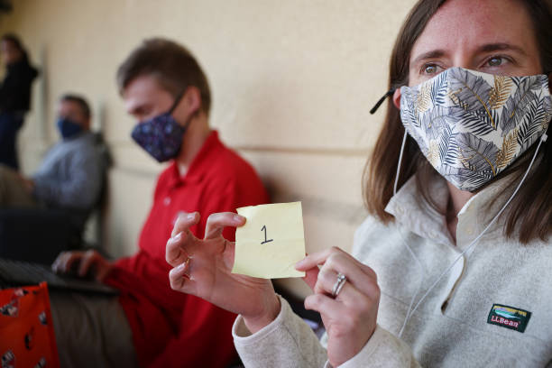 MD: Walk-Up Vaccination Site In Maryland Spurs Long Lines