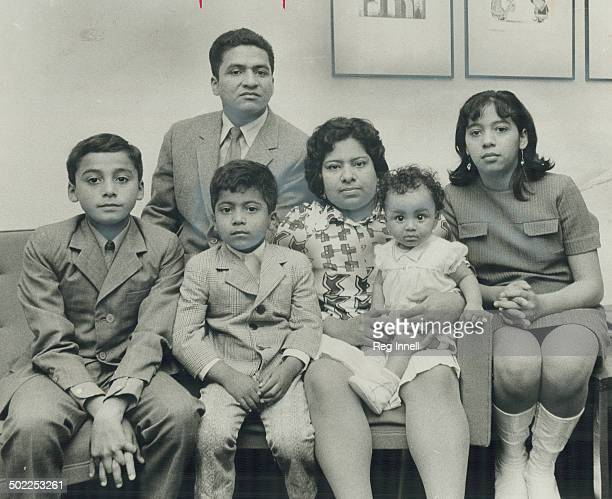 Having failed to beat Canada's immigration system Alfredo Navarrete 38 his wife Maria and their children Daniel 12 Alfred 5 Ruth 7 months and Gina 14...