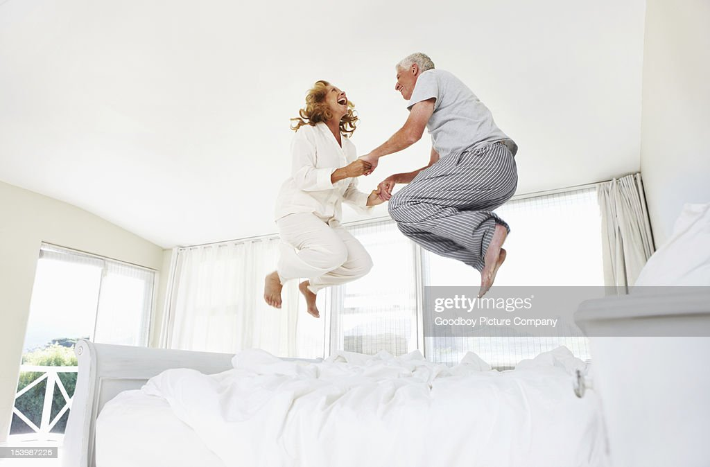 Having fun at any age! : Stock Photo