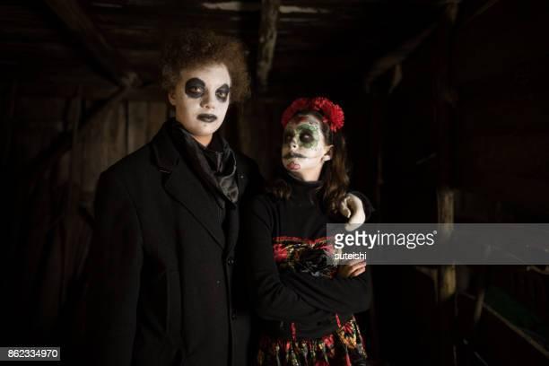 Spaß an Halloween – das Paar