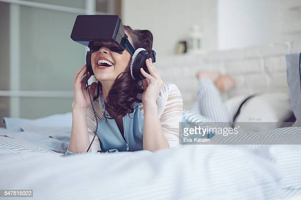 Having fun in a virtual reality