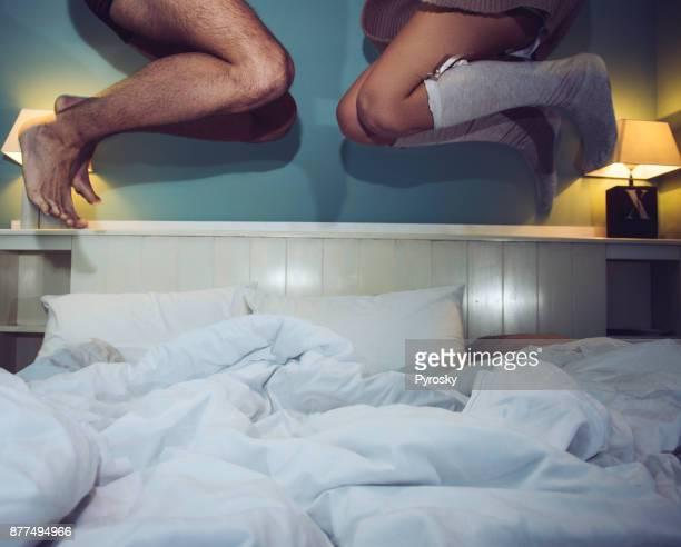 Having fun in bed
