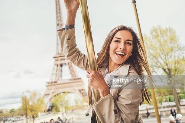 Having fun in Paris city