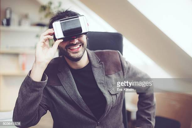 Spaß in der virtuellen
