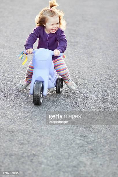 Spaß auf Ihr Dreirad