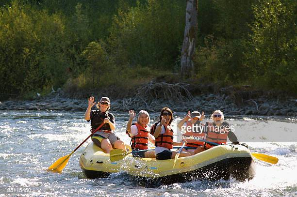 Having Fun Rafting