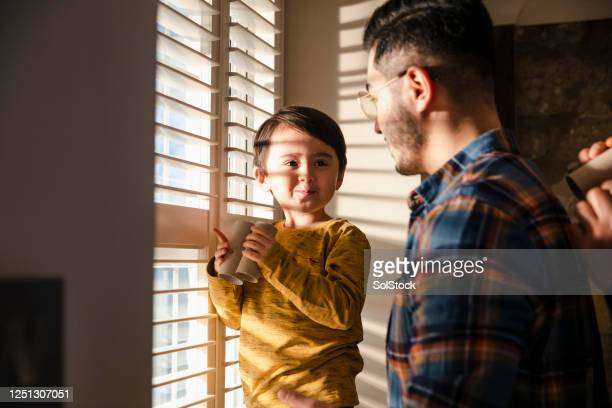 having fun with dad - boys stock pictures, royalty-free photos & images