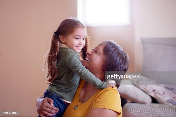 having her around takes life to a new level - nanny stock photos and pictures