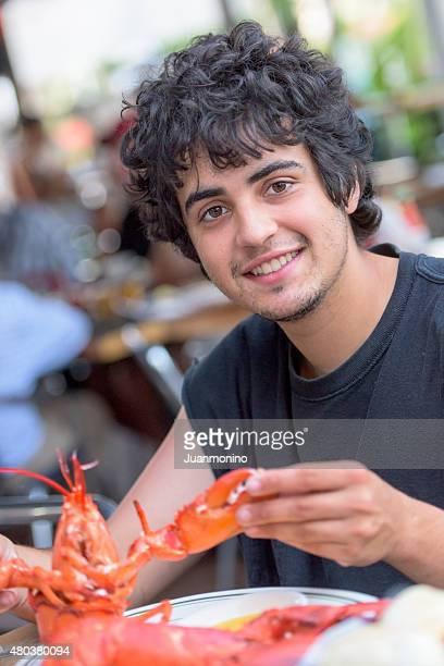 Having Lobster