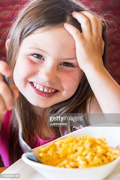Having Macaroni and Cheese