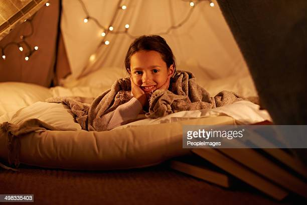 having my own sleepover! - fortress stock pictures, royalty-free photos & images