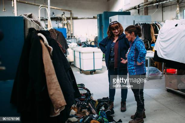 Having their storage inside a working industrial clothes washing facility things sometimes are moved around the place and need to be sorted out and...