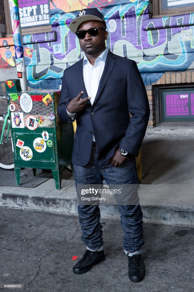 Havoc arrives for VH1's Hip Hop Honors: The 90's Game Changers at Paramount Studios on September 17, 2017 in Hollywood, California.