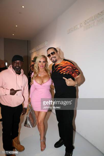 Havoc Coco Austin and IceT attend the Equal Standards New York Screening at Museum of the Moving Image on September 26 2019 in New York City