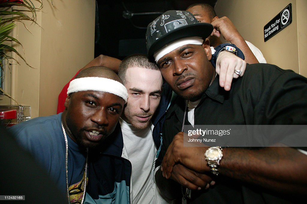 Havoc of Mobb Deep, Alchemist and Sheek Louch during Jadakiss' 'Kiss Of Death' Album Release Party in New York City, New York, United States.