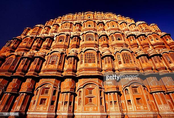 Hawa Mahal (Palace of the Winds) Jaipur, India - low