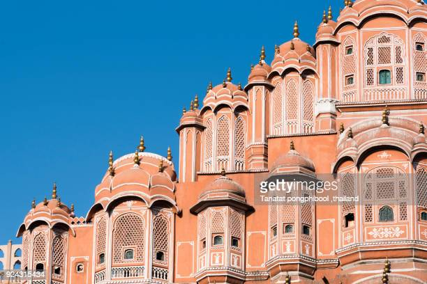 hawa mahal, jaipur, india - rajastão imagens e fotografias de stock