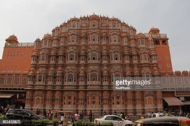 Hawa Mahal Jaipur Rajasthan on 20 February 2018 Jaipur is the capital of Indias Rajasthan state It evokes the royal family that once ruled the region...