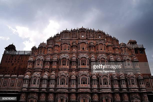 Hawa Mahal or Palace of the winds in Jaipur Rajasthan India 2012