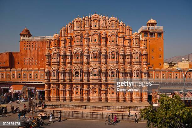 Hawa Mahal or Palace of Winds is an ornate architectural icon in Jaipur, India