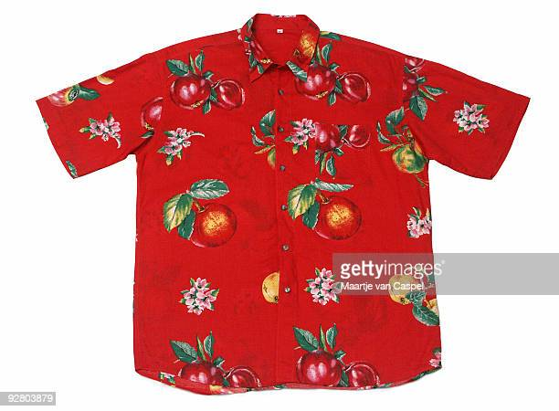 hawaian shirt - short sleeved stock photos and pictures