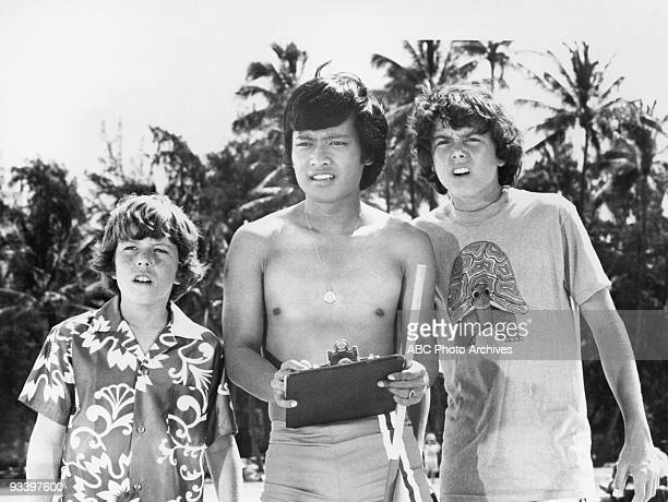 BUNCH Hawaii 9/22/72 Mike Lookinland Patrick Adiarte Christopher Knight