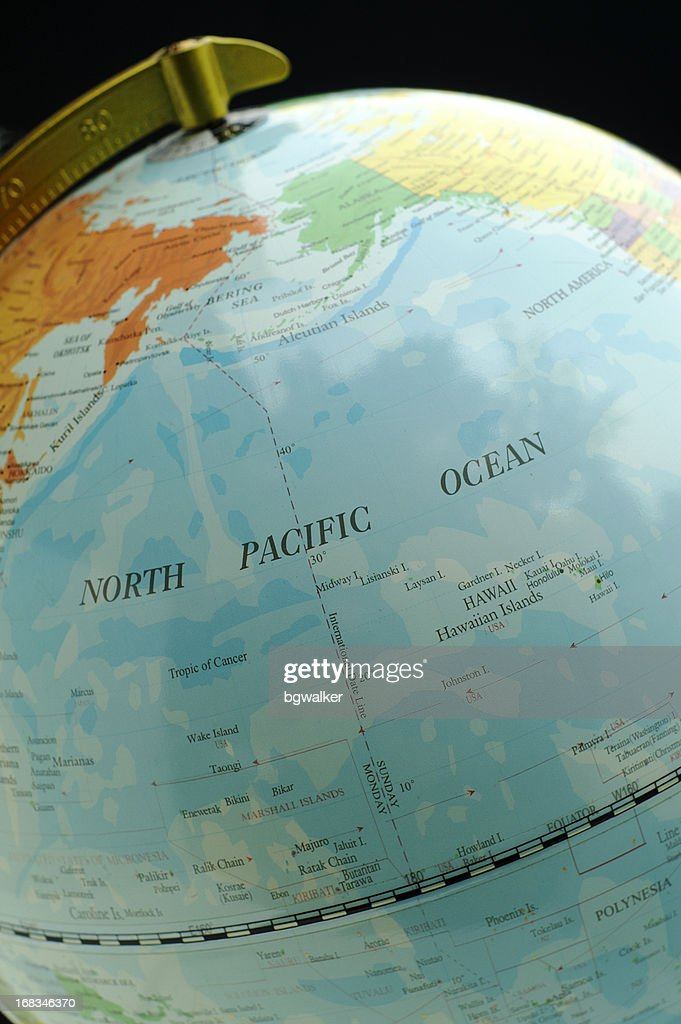 Hawaii and North Pacific Ocean : Stock Photo
