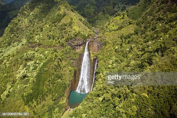 USA, Hawaii, Big Island, Hamakua Coast, Akaka Falls State Park, Akaka Falls