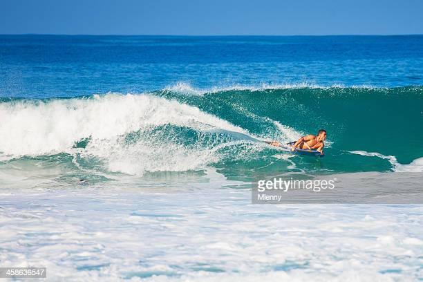Hawaï Faire du bodysurf