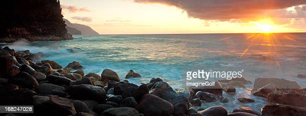 Hawaii Coast and the Famous Na Pali Coast in Kauai