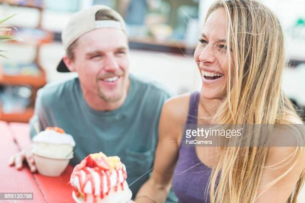 Hawaii Dessert picknick