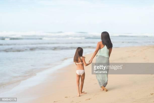 Hawaii family vacation on beach