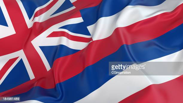 hawaii flag - hawaii flag stock pictures, royalty-free photos & images