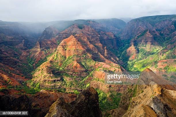 usa, hawaii, kauai, waimea canyon, landscape - waimea canyon stock pictures, royalty-free photos & images