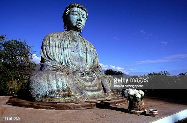 米国ハワイ州ラハイナ、マウイ島、ラハイナ浄土寺、像。 - 仏陀 ストックフォトと画像
