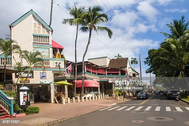 usa, hawaii, maui, lahaina - lahaina stock pictures, royalty-free photos & images