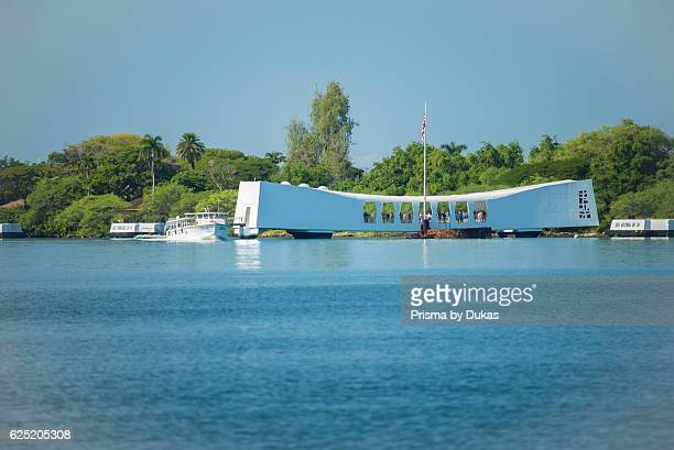 USA Hawaii Oahu Honolulu Pearl Harbor USS Arizona Memorial