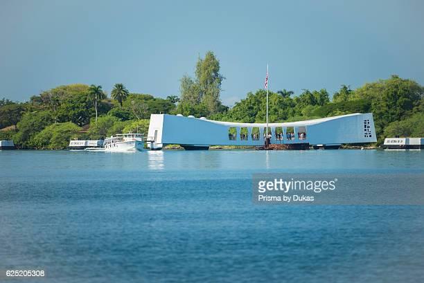 USA Hawaii Oahu Honolulu Pearl Harbor USS Arizona Memorial