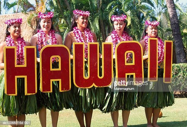 USA, Hawaii, Oahu, Honolulu, Waikiki, Kodak Hula Show