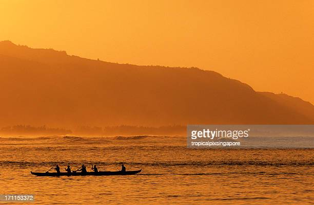 o'ahu, havaí, eua, north shore, hale'iwa. - haleiwa - fotografias e filmes do acervo