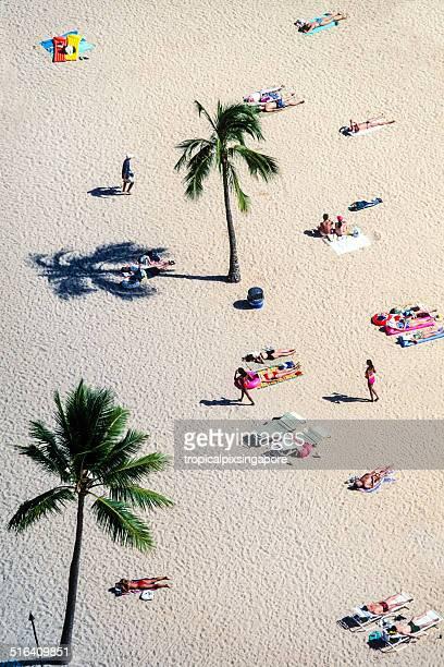 Hawaii, Oahu, Waikiki Beach
