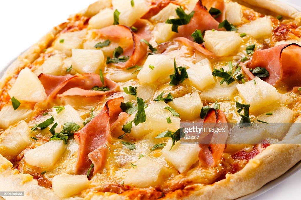 pizza Havai : Foto de stock