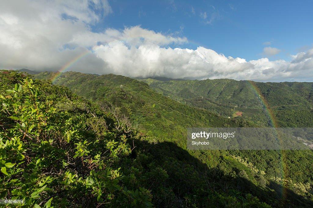 Ubicado en la Torre Rainbow : Foto de stock