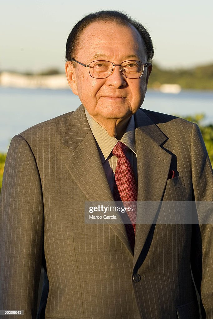 Hawaii Senator Daniel K. Inouye waits for the start of the ceremony honoring the 64th anniversary of the surprise attack on Pearl Harbor December 7, 2005 at Pearl Harbor, Hawaii. Around the country, Pearl Harbor survivors and others paid tribute to those lost during the December 7, 1941 Japanese bombing of Pearl Harbor.
