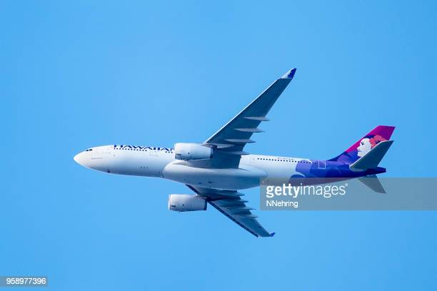 Hawaiian Airlines Airbus A330 passenger jet airplane