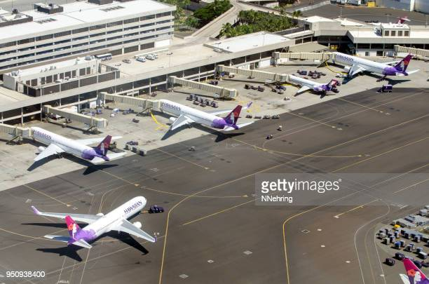 Hawaiian Airlines at Terminal 2, Daniel K. Inouye International Airport