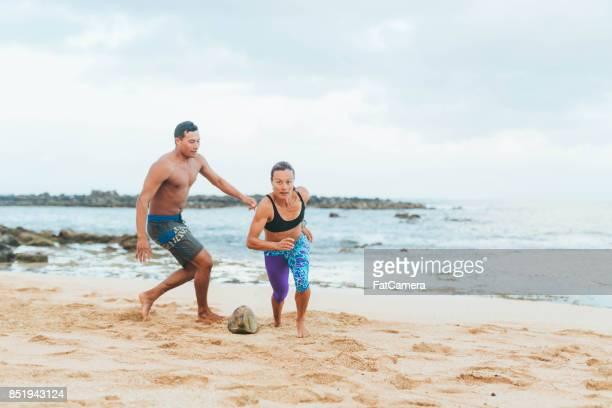 Hawaii Beach-Übung