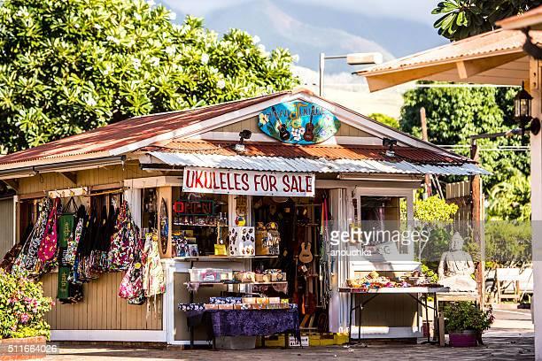Hawaiian Gift Shop in Lahaina, Maui, USA