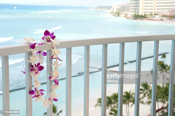 hawaiian lei - hawaiian lei stock pictures, royalty-free photos & images