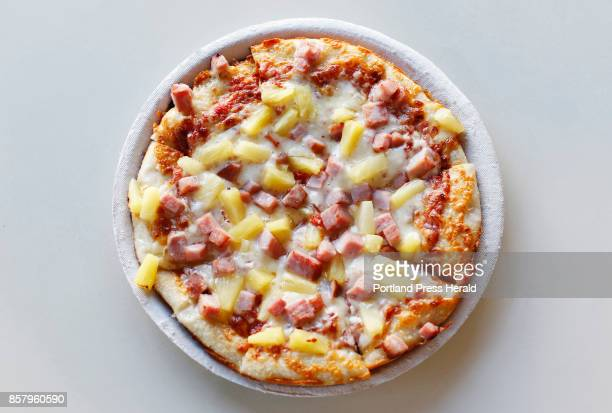 Hawaiian pizza at Pizza By Alex for Eat and Run